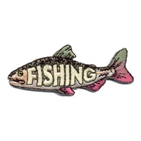 Fishing (Laser Cut Fish) Patch