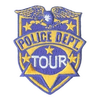 Police Dept Tour - Eagle Badge