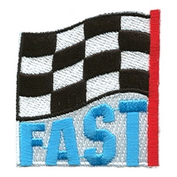 Fast (Finish Line Flag)