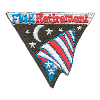 Flag Retirement Patch