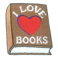 I Love Books (Heart)