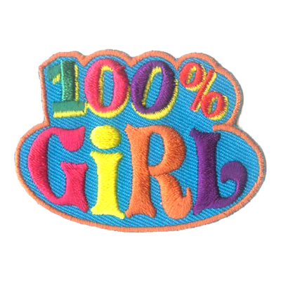 100% Girl Patch