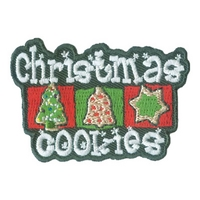 Christmas Cookies Patch