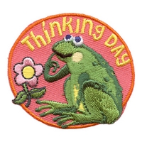 Thinking Day (Frog) Patch