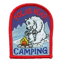 Polar Bear Camping Patch