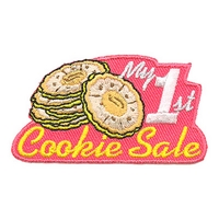 My 1st Cookie Sale