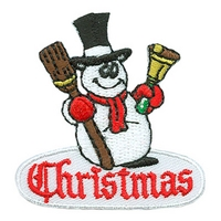 Christmas (Snowman) Patch