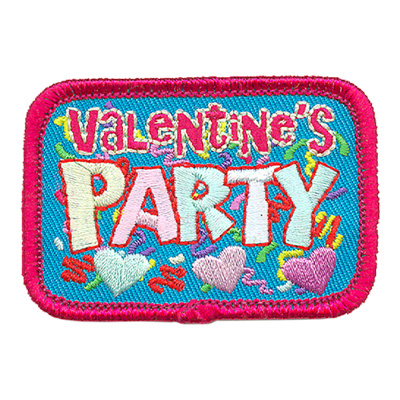Valentine's Party Patch