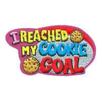 I Reached My Cookie Goal Patch