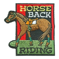 Horse Back Riding Patch