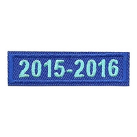 2015-2016 Blue Year Bar