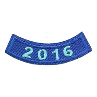 2016 Blue Year Rocker