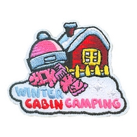 Winter Cabin Camping