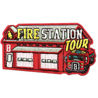 Fire Station Tour Patch