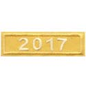 2017 Gold Year Bar