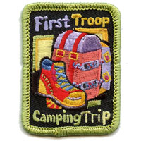 First Troop Camping Trip