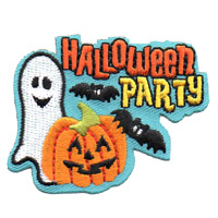 Halloween Party Patch