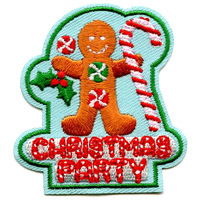 Christmas Party Patch
