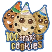 100 Years of Cookies Patch