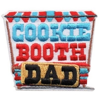 Cookie Booth Dad Patch
