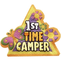 1st Time Camper Patch