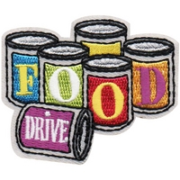 Food Drive Patch