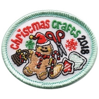 2018 Christmas Crafts Patch