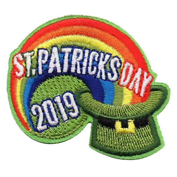 2019 St  Patrick's Day Patch