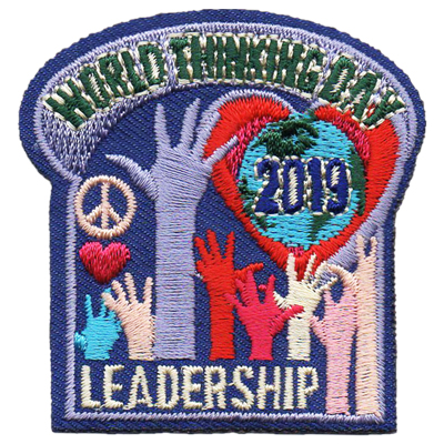 2019 World Thinking Day Patch