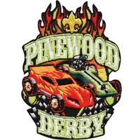 Pinewood Derby Patch