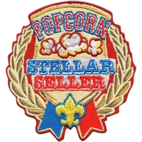 Popcorn Stellar Seller Patch