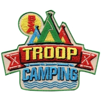 Troop Camping Patch