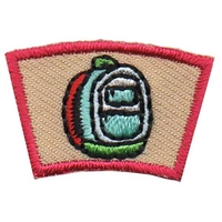 Back Pack Segment Patch