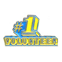 #1 Volunteer Pin