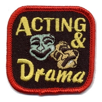 Acting  & Drama Patch