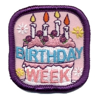 Birthday Week Patch