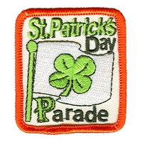 St. Patrick's Day Parade-Flag