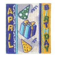 April Birthday Patch