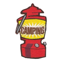 Camping (Red Lantern) Patch