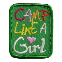 Camp Like A Girl Patch