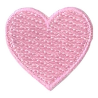 1 Inch Heart (Pink)