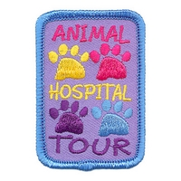 Animal Hospital Tour Patch