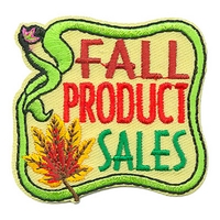 Fall Product Sales