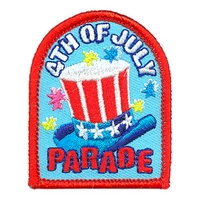 4th Of July Parade Patch