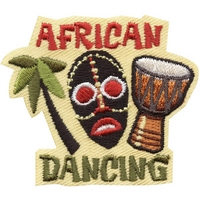 African Dancing Patch