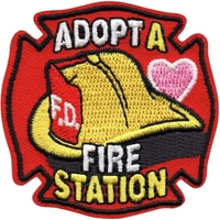 Adopt A Fire Station Patch