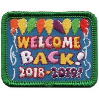 2018-2019 Welcome Back