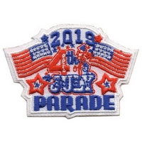 2019 4th July Parade Patch