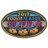 2019 Cookie  Survivor Patch